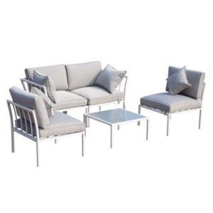 4 Piece Outdoor Furniture Patio Conversation