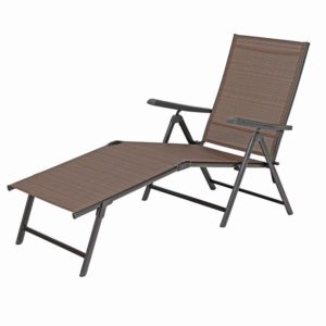 5 Stages Adjustable Patio Folding Metal