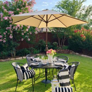 7-1/2 ft. Round Outdoor Market Patio