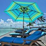 9-Feet Aluminum Market Table Umbrella With