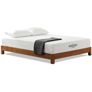 "Aveline 10"" Gel-Infused Memory Foam Mattress White"