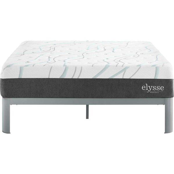 Elysse Gel Infused Hybrid Mattress White