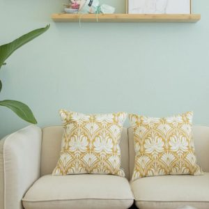 Embroidered Throw Pillow Covers Decorative