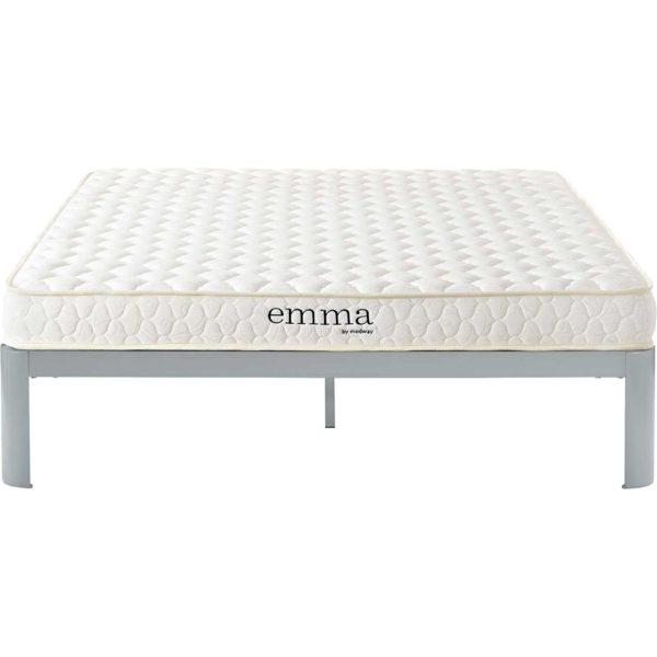 "Emma 6"" Memory Foam Mattress White"