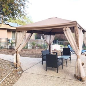 Fully Enclosed Garden Gazebo