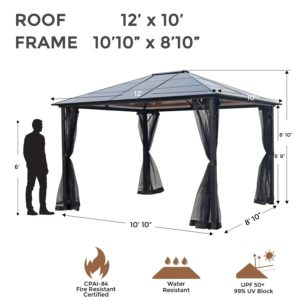 Hardtop Aluminum Patio Gazebo