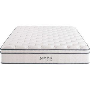 "Jenna 10"" Innerspring Mattress White"