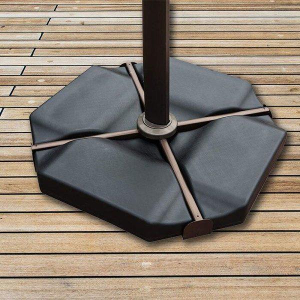 Offset Umbrella Base Plate Set Heavy