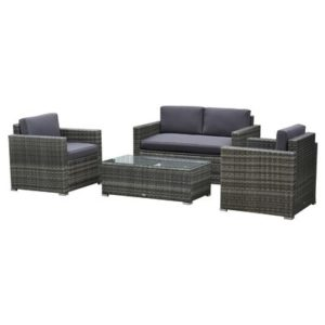 Outside Rattan Wicker Chair/Sofa Set