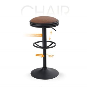 Swivel Counter Height Adjustable Bar