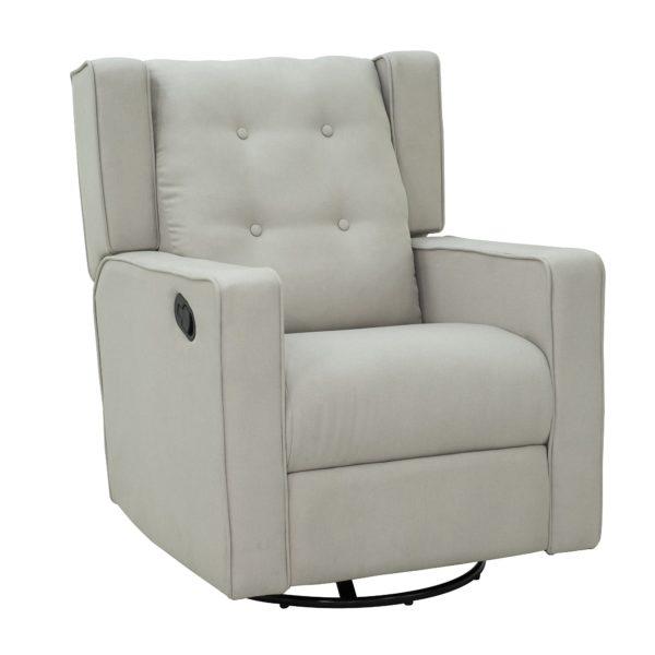 HOMCOM Living Room Chair Recliner Linen Fabric