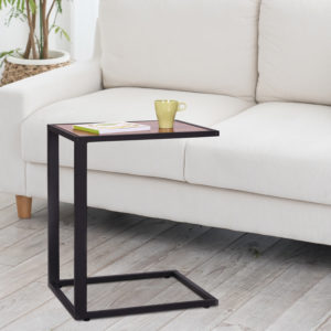"""HomCom 26"""" Accent Sofa Couch Side Table"""