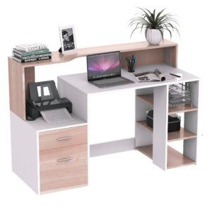 "HomCom Furniture 55"" Multi-Level Modern Design Home"