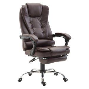 HomCom High Back Computer Chair Reclining PU