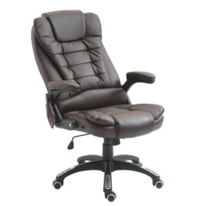 HomCom Office Chair Massager with Heat High