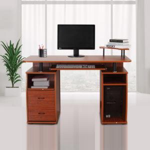 Homcom Computer Desk With Drawers Home Office/Dorm