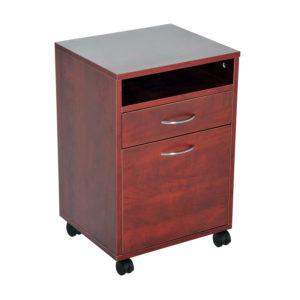 """Homcom Rolling File Cabinet 24"""" Rolling End"""
