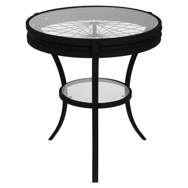 "Monarch 22"" Round 2-Tier Metal Wheel Spoke"