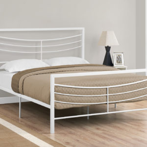 """Monarch 62"""" Contemporary Curved Horizontal Slat Metal"""