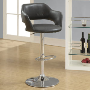 Monarch Contemporary PU Leather Curved Seat Back