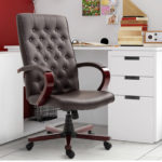 Vinsetto High Back Office Chairs Faux Leather